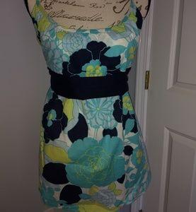 Women's floral print tank top